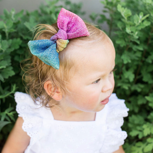 Unicorn Glitter Samantha Bow