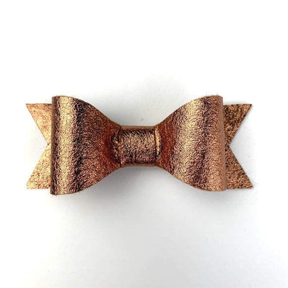 Copper Metallic Kassidy Jane Bow