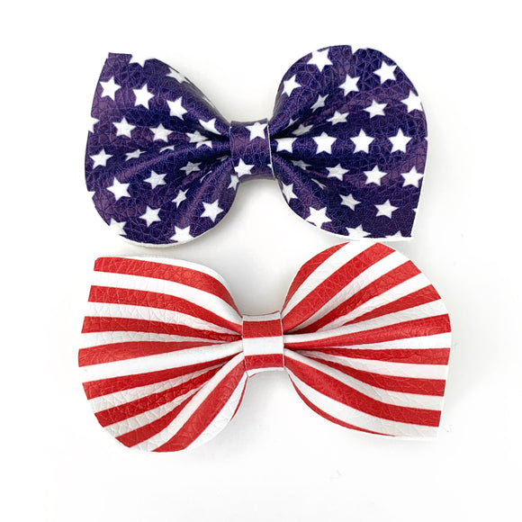 Americana Reese Bows (Set of 2)
