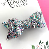 Rainbow Fish Glitter Kassidy Jane Bow (2 sizes)
