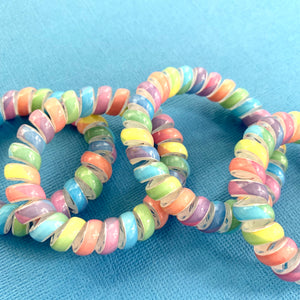 Unicorn Spiral Twisted Hair Ties