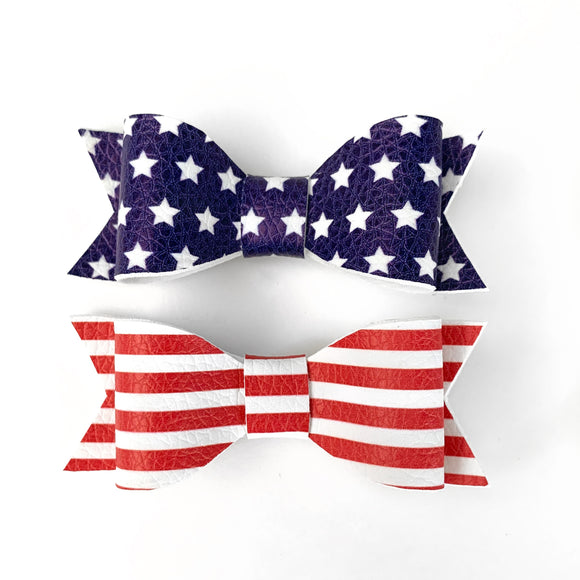 Americana Kassidy Jane Bows (Set of 2)