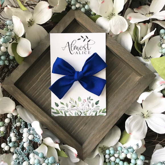 Royal Blue Isabella Bow