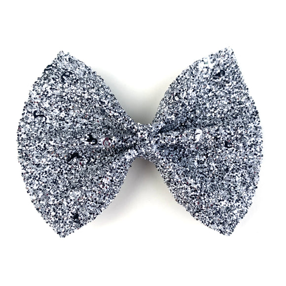 Countdown Glitter Large Delilah Bow