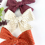 Fall Collection Isabella Bows (Set of 3)