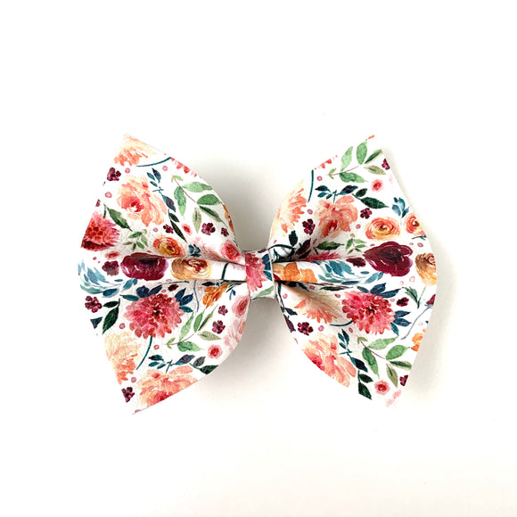 Flower Garden Medium Delilah Bow