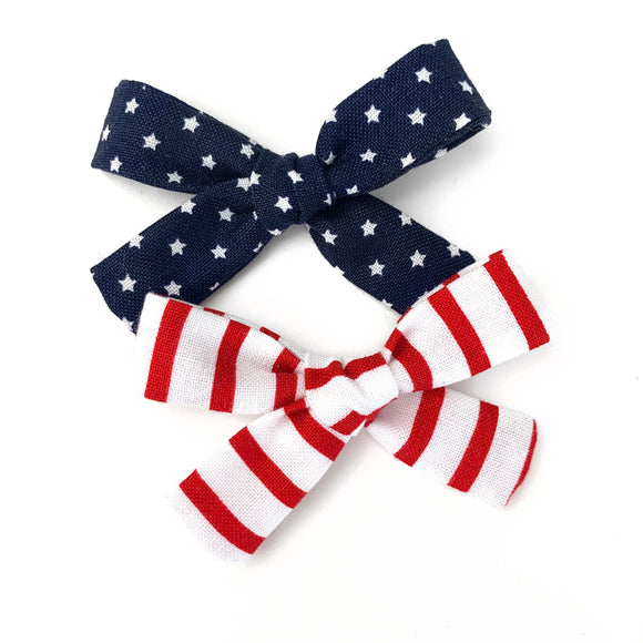 Americana Mini Isabella Bows (Set of 2)