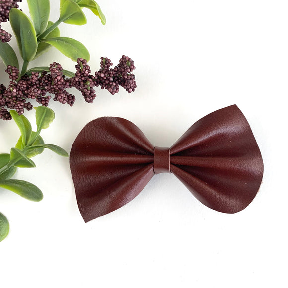 Scotch Brown Large Reese Bow