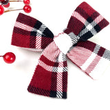Winter Flannel Plaid Isabella Bow