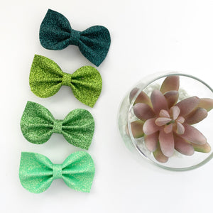 Green Felt Reese Bow Collection
