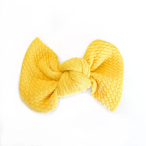 Yellow Bullet Madison Bow