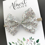 Dripping in Diamonds Glitter Caroline Bow (2 sizes)