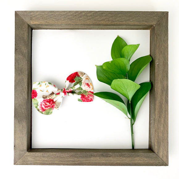 Secret Garden Floral Reese Bow (2 sizes)