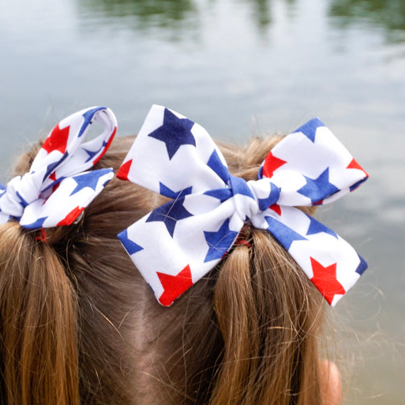 Star Spangled Isabella Bow