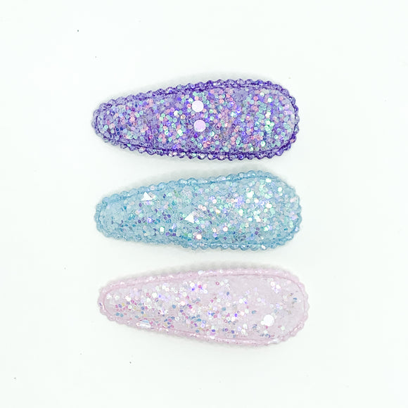 Mermaid Glitter Clip Set