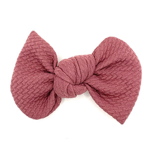 Dusty Rose Bullet Madison Bow