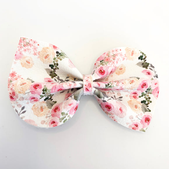 Simple Elegance Floral Large Reese Bow