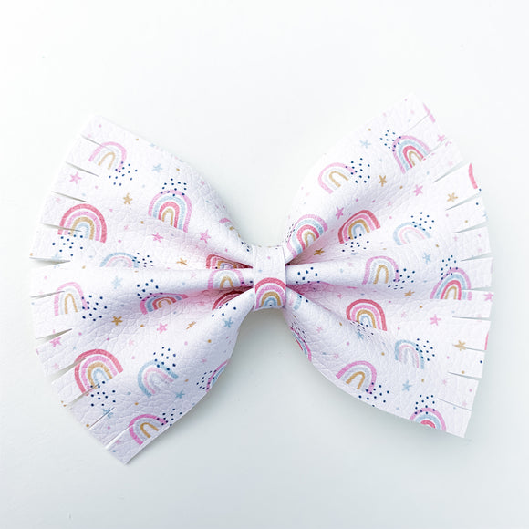 Magical Rainbows Extra Large Caroline Bow