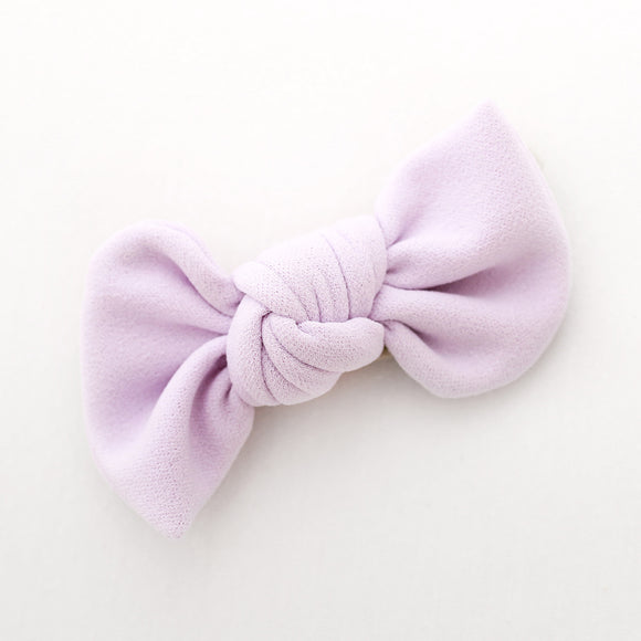 Lilac Madison Bow