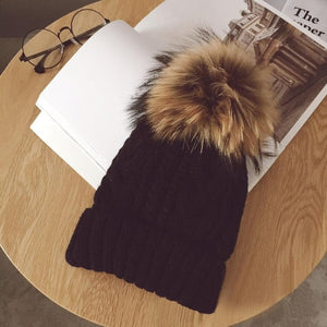 Youth/Adult Pom Beanie