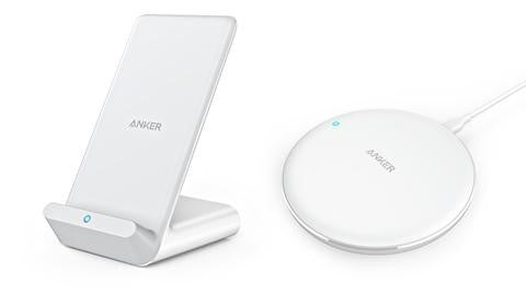 Anker PowerWave wireless charging stand and pad