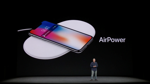 Apple AirPower at keynote event 2017