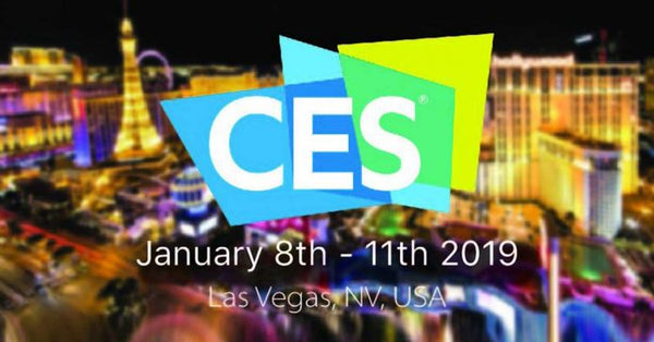 CES 2019 banner with dates