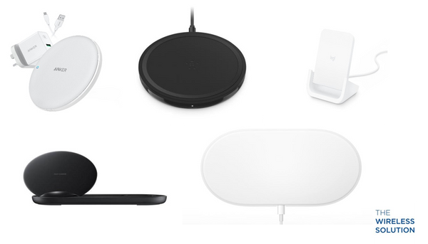 The Wireless Solution's Top 5 Wireless Chargers