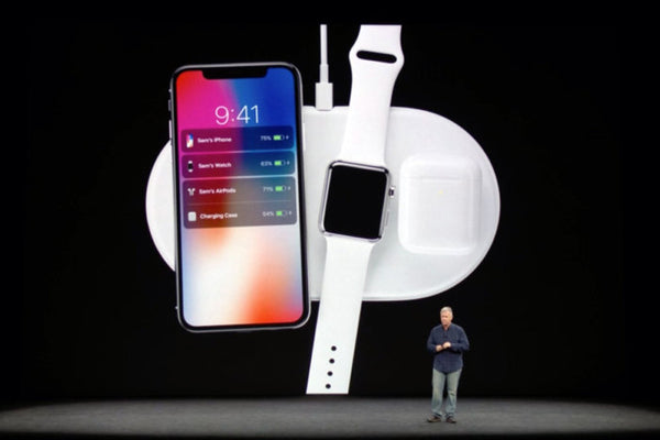 Apple AirPower demonstration at Apple Special Event 2017