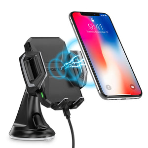 CHOETECH Fast Wireless Car Charging Dock