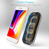 CHOETECH 3 Coils Wireless Charging Pad 3 coils charging