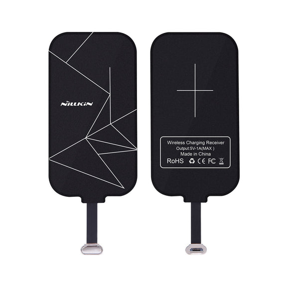 Nillkin Magic Tag Qi Wireless Charging Receiver front and back
