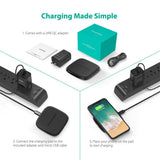 RAVPower Hyper Air Charging Pad charging made simple