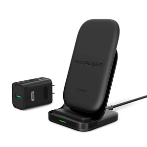 RAVPower HyperAir Charging Stand with 24W QC 3.0 wall plug