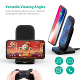 RAVPower HyperAir Charging Stand versatile viewing angles
