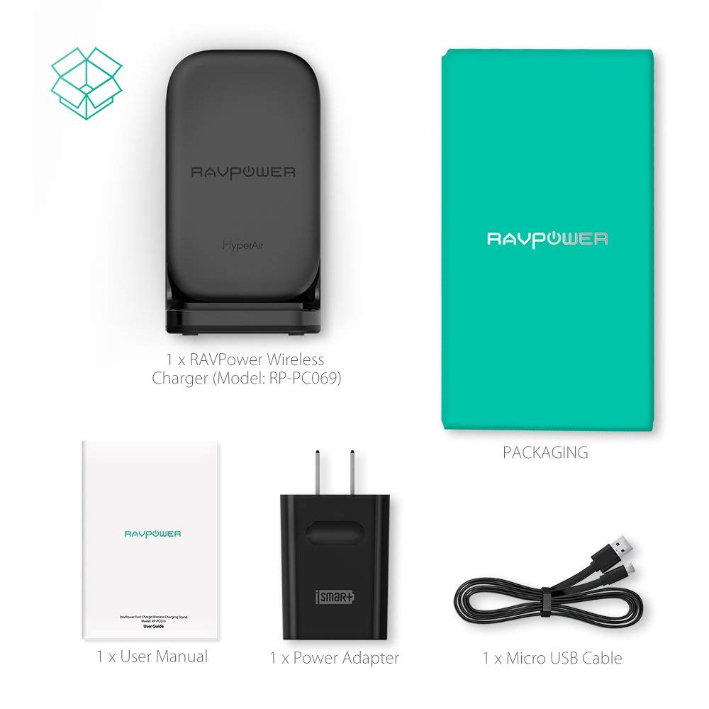 The RAVPower HyperAir Charging Stand