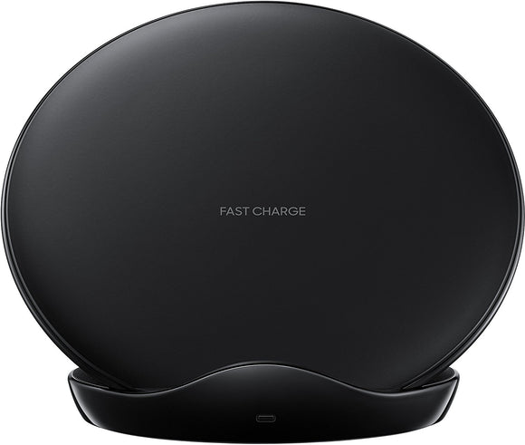 Samsung Fast Charge Wireless Charging Stand black front on