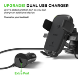 iOttie Easy One Touch 4 dual USB charger