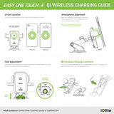 iOttie Easy One Touch 4 wireless charging guide