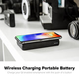mophie Charge Stream Powerstation wireless charging portable battery
