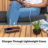 mophie Charge Stream Powerstation XL charges through lightweight cases