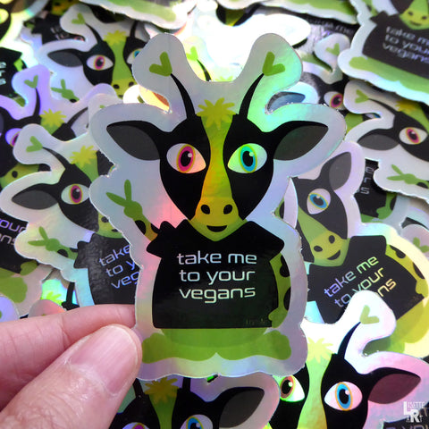 New Vegan Holographic Stickers have Arrived!