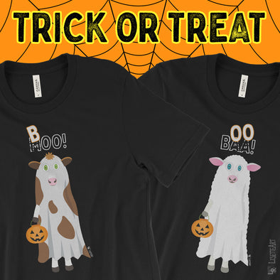 Trick or Treat Halloween Tees are Here