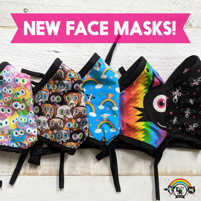 Printed Face Masks are Back!