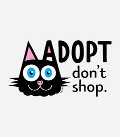 Adopt Don't Shop (cat ear)