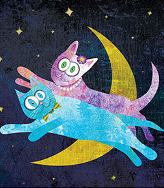 Cat Lovers Over The Moon
