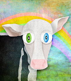 The Cow Who Freed Himself
