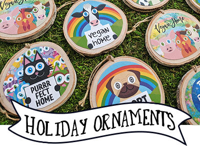 Animal Themed Holiday Ornaments