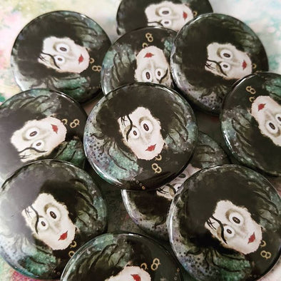 """The Original Edward"" 1.25"" Round Pinback Button"