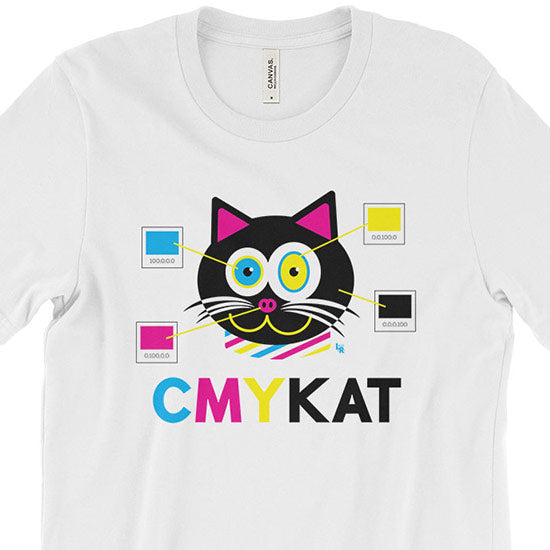 """CMYKat"" Unisex Cat T-Shirt"